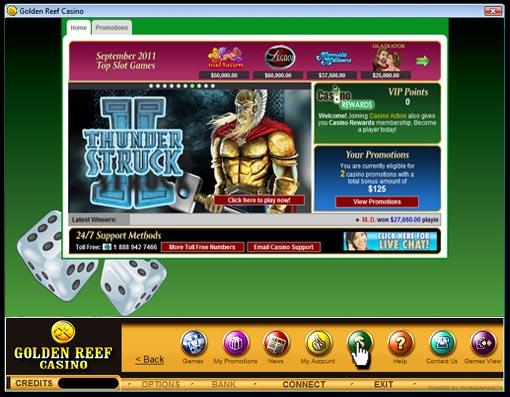Golden reef casino flash star city casino parking free